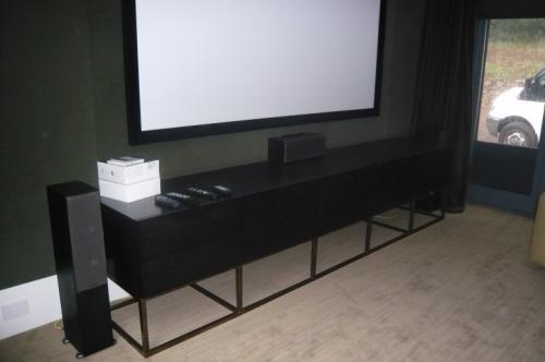 Black Oak AV Cabinet
