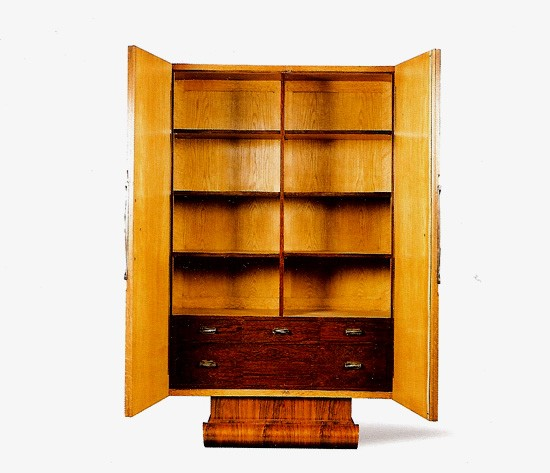 Cabinet in Palisander with Birch interior