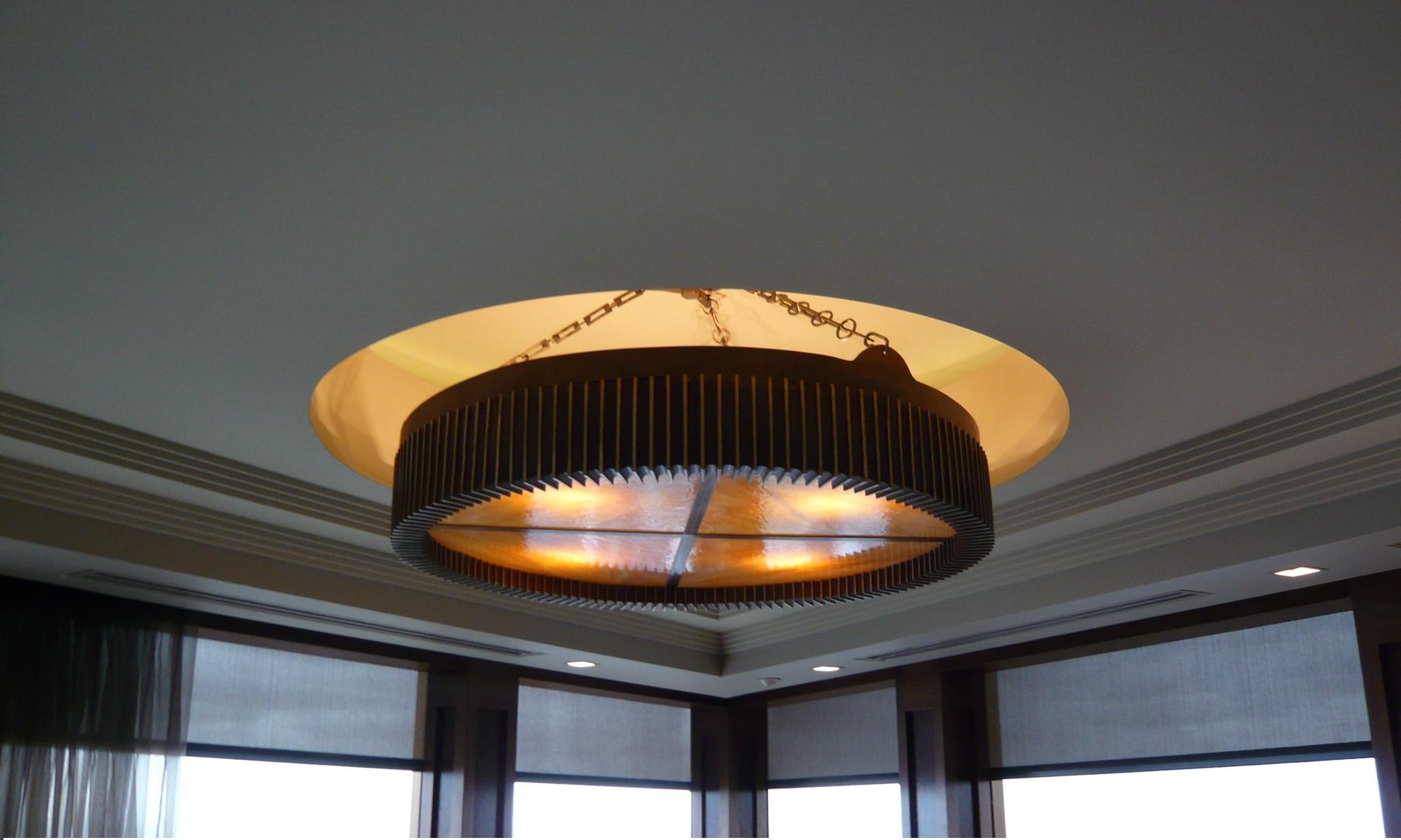 Hanging Bronze Light