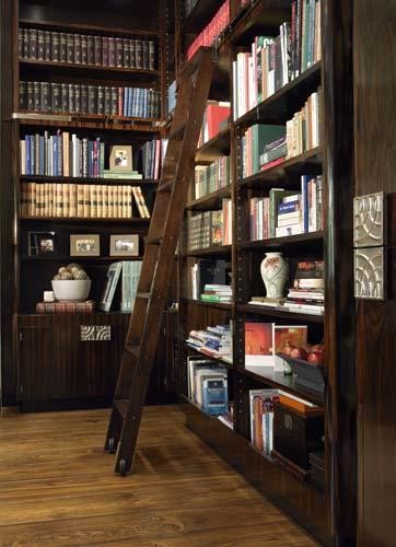 Interior Library Room