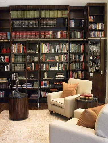 Library Interior in Macassar