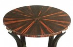 Pedestal Table in Macassar
