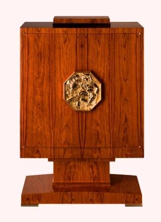 Ruhlmann Art Deco Cabinet in Palisander