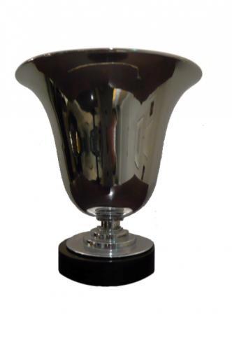 Silver Urn Lamp