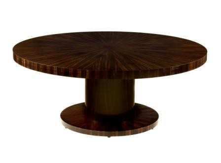 Art Deco Round Table
