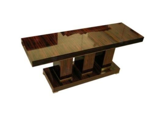 Art Deco Sofa Table