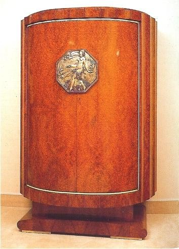 Ruhlmann Chiffonier with Fluting