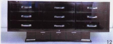 Ruhlmann Industrial Black Cabinet